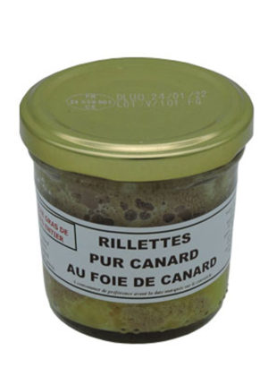 Pure duck Rillettes with duck liver (20%) Jar
